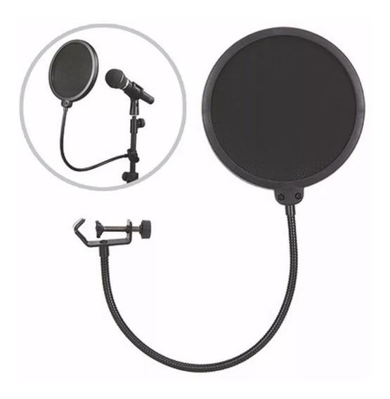 Protetor Para Microfone Pop Filtro Csr