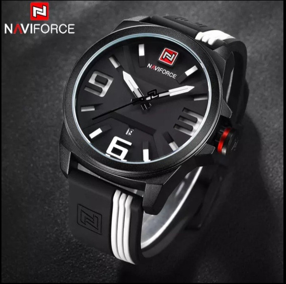 Relógio Novo Naviforce Sport Black