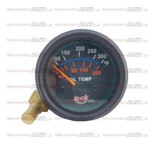 Reloj Temperatura Aceite Electrico Para 24v Aplica Agua ,