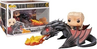 Funko Pop! Rides Games Of Thrones Daenerys On Fire Drogon