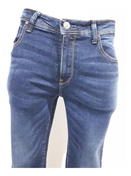 Pantalón Collors Couture Mez Corte Skinny Strech 3356