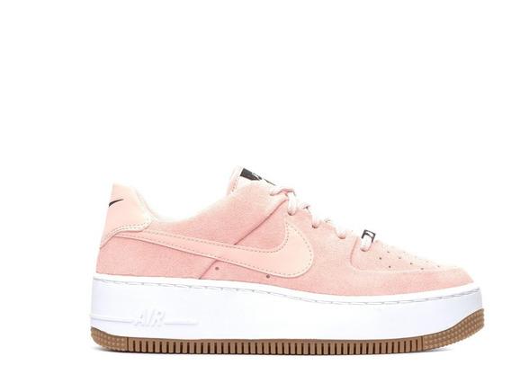 Zapatillas Nike Air Force 1 Sage Coral Mujer Originales