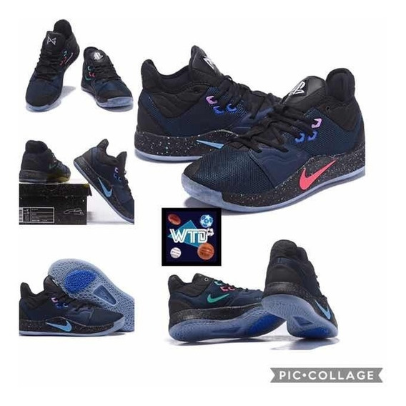 newest cf71c 21ff4 Tenis Paul George Playstation Hombres Nike Hombre - Tenis ...