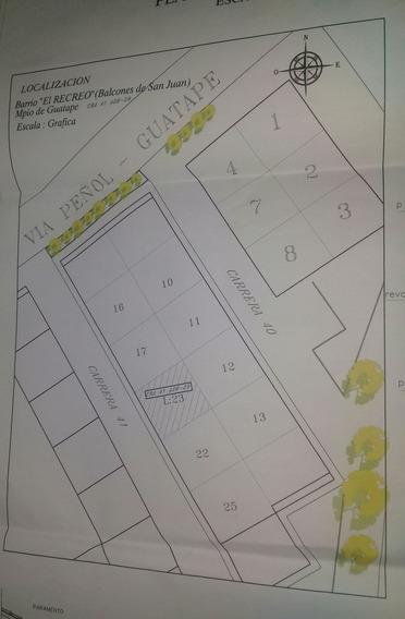Se Vende Apartamento Sobre Planos En Guatape, Tercer Piso.