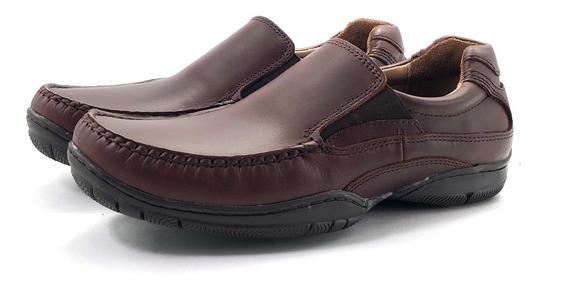 Zapato Cuero 355 El Mercado De Zapatos!