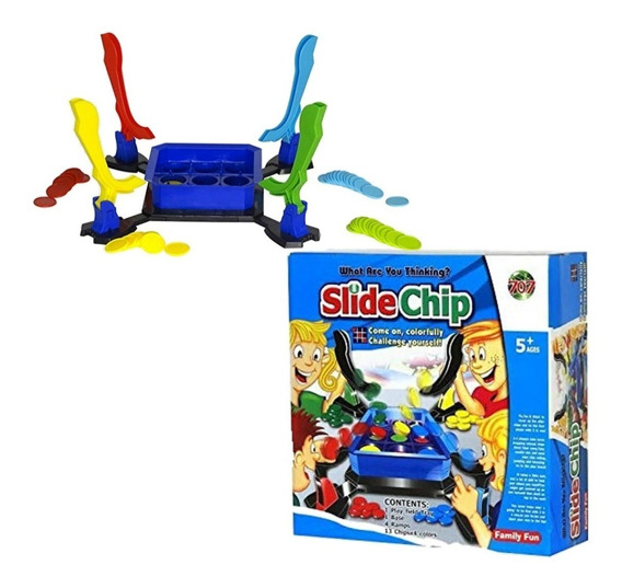 Slide Chip Juego Lanza Fichas Ct Plumitaa 19006 Kuky