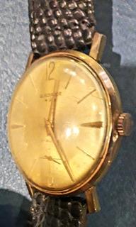 Reloj Gladiador Cuerda Plaque Oro Manual Hombre Funcionando