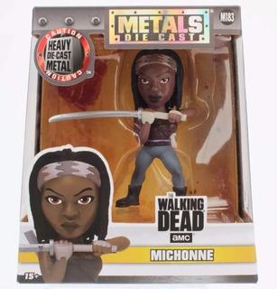 Figura Michonne The Walking Dead Metals Die Cast