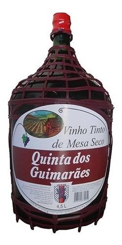 Vinho Tinto Seco Isabel/bordô 4,5 L - Quinta Dos Guimarães