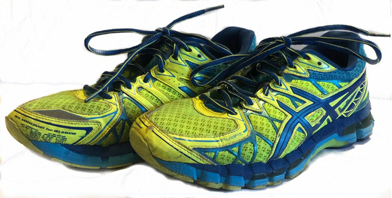 Asics Gel Kayano 20 Amarelo Verde Barato Homens Tênis de corrida