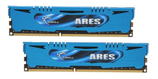 Kit De Memórias G.skill Ares 8gb (2x4gb) Ddr3 1866mhz Azul