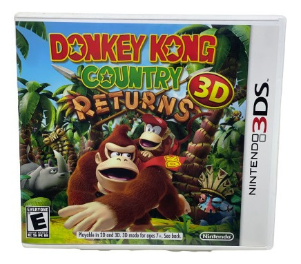 Jogo Donkey Kong Country Returns - 3ds