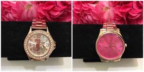 Lote De Acessórios Feminino Bijouterias, Relógios E Lenços