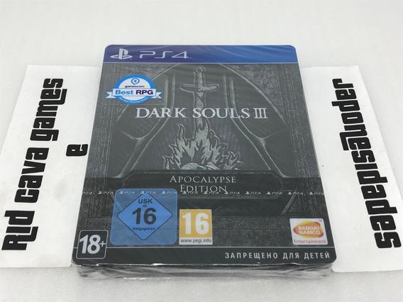 Dark Souls 3 Apocalypse Steelbook Edition Ps4