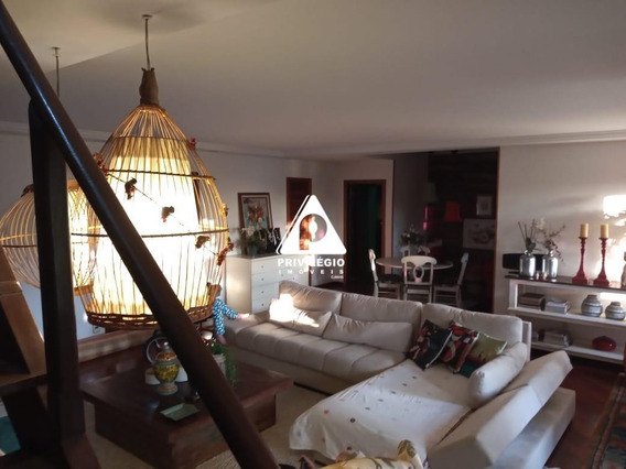 Apartamento À Venda, 4 Quartos, 2 Vagas, Santa Teresa - Rio De Janeiro/rj - 25531