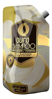 Ouro Shampoo Matizador 900ml - Envio Incluido -
