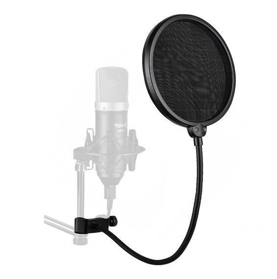 Pop Filter Anti Puff Para Microfone Condensador / Studio