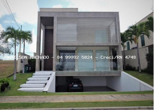 Casa Em Condomínio Para Venda Em Parnamirim, Pium - Alphaville Natal, 5 Dormitórios, 5 Suítes, 7 Banheiros, 4 Vagas - Cas1421-a_2-1032132