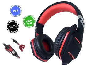 Headset Gamer Pc Ps4 Xbox One Som Do Jogo Chat P3 3.5mm 7.1