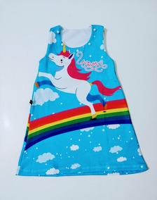 Kit 4 Vestido Trapezio Lol Surprise Varias Estampas Tam 4