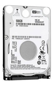 Hd Notebook 2.5 500gb - Western Digital