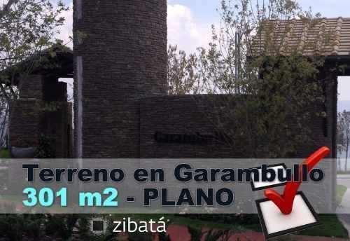 Hermoso Terreno Plano, 301 M2 En Privada Garambullo, Zibata