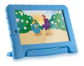 Tablet Multilaser Infantil Galinha Pintadinha 7´ 8g Wifi Loi