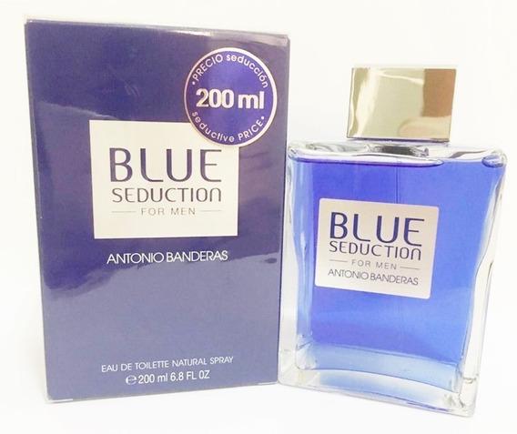 Perfume Blue Seduction For Men 200ml Edt Original / Lacrado
