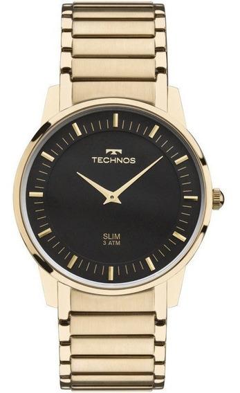 Relógio Technos Unissex Slim Gl20aq/4p