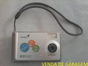 Câmera Compacta Digital Genius G-shot P5143 4x Apenas Peças!
