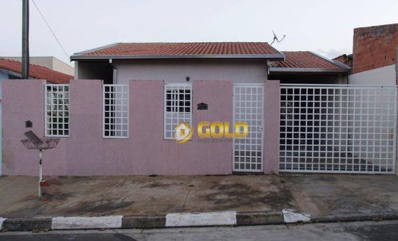 Casa Residencial À Venda, Parque Bom Retiro, Paulínia. - Ca0070
