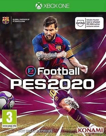 Pes 20 Xbox One Mídia Digital + 1 Jogo Grátis