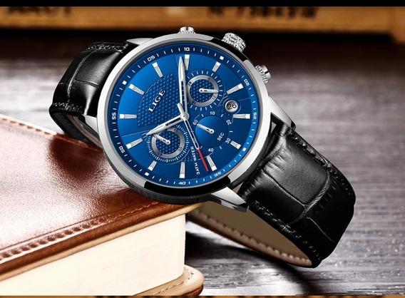 Relógio Masculino De Luxo A Prova D