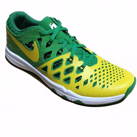 Tênis Nike Train Speed 4 Amp Oregon Ducks Verde Amarelo Copa