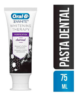 Pasta Dental Carbon Oral B 3d White Whitening Therapy 75 Ml