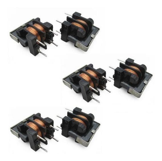 6x Filtro Indutor Uu9.8 7x8mm Choke | 2 10mh +2 30mh +2 50mh