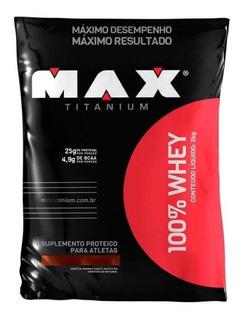 100% Whey Protein (2000g) Max Titanium