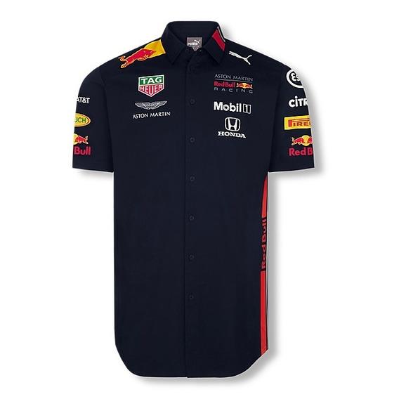 Camisa Puma Vestir Red Bull Verstappen Nuevo **modelo 2019**