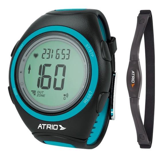 Relógio Monitor Cardíaco Atrio Frequencímetro Calorias Cinta