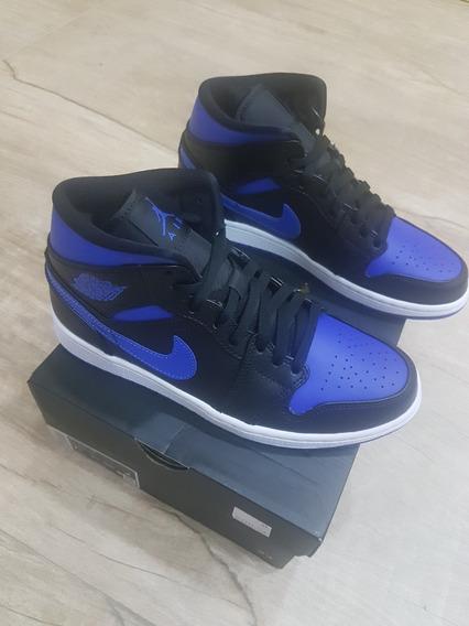 Air Jordan 1 Mid Royal Blue Size 39
