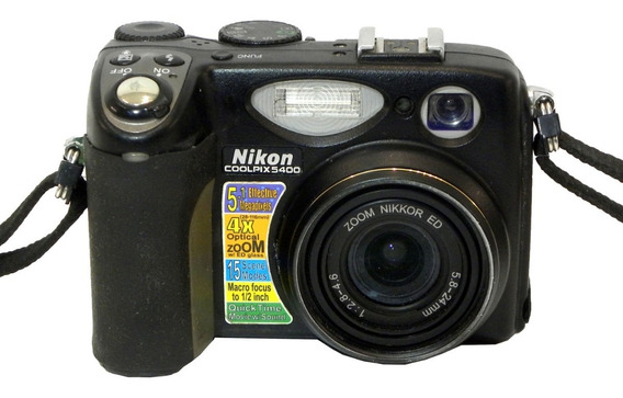 Câmera Digital Nikon Coolpix 5400 5.1 Mp Retirada De Peças