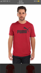 Playera Puma Caballero, Hombre, Estampado Clásico Original
