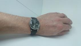 Lindo Relógio Pulso Seiko 21 Rubis Aço Dataday - Automatic