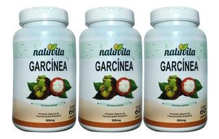 Kit 3 Garcinia Cambogia - Natuvita - 60 Capsulas