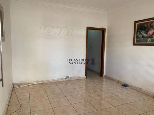 Sobrado Com 2 Dormitórios À Venda, 100 M² Por R$ 480.000,00 - Mooca - São Paulo/sp - So0344