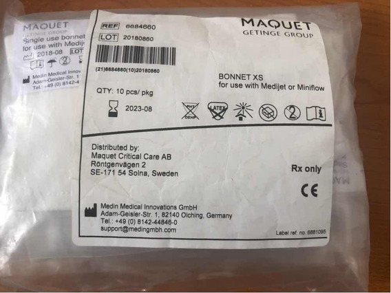 Gorros Para Cpap Neonatal Tamaño Xs Marca Maquet