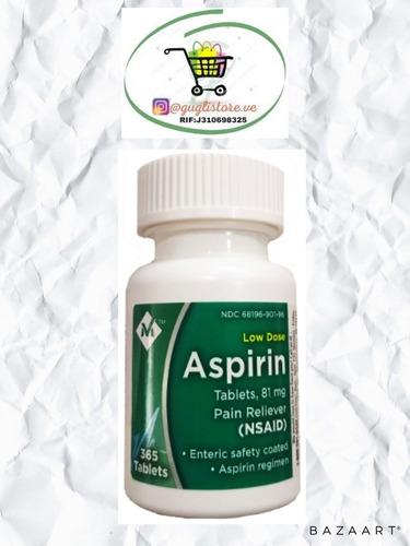 Imagen 1 de 1 de Suplemento Comico Aspirina 81g