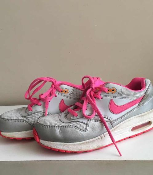 Zapatillas Nike Air Nro Us 2 ( 33,5 ) Divinas!