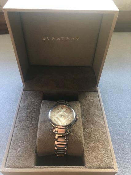 Reloj Burberry Bu10108 Swiss Stainless Steel Bracelet