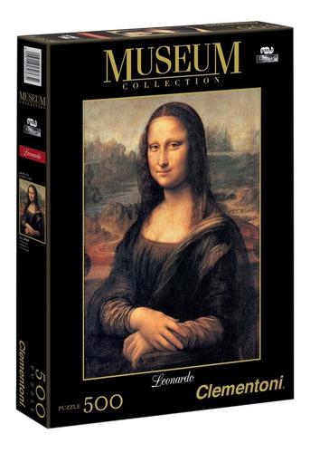 Puzzle Rompecabeza Clementoni X 500 Museum Mona Lisa 30363